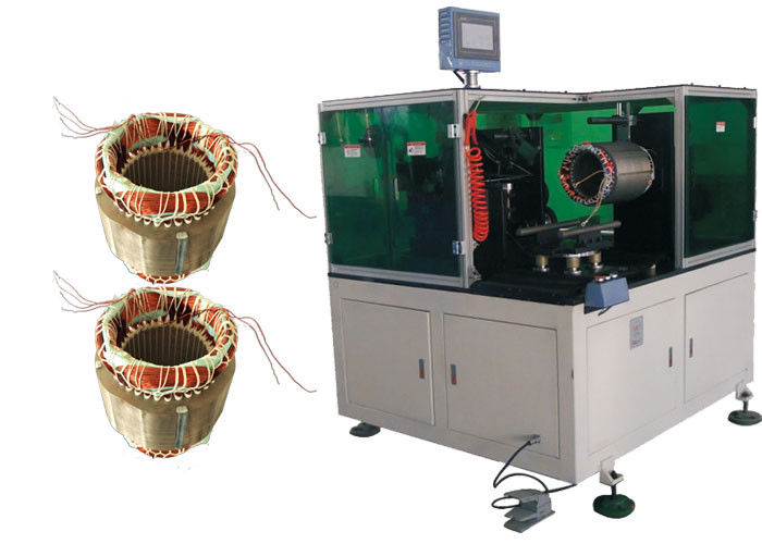 DW350 Stator Lacing Machines Manufacture Electric Motors To Lace The Stator End Coils