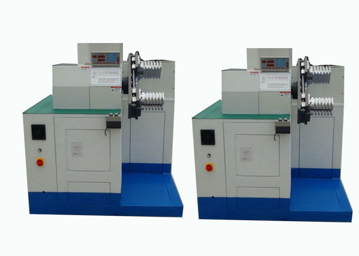 Multistrand Type Stator Winding Machine , Electric Wire Full Automatic Wire Winding Machine